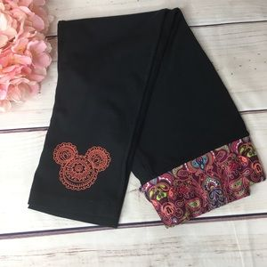 DISNEY PARKS Authentic Mickey Mouse Yoga Pants